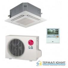 "Инверторен климатик, ""касетъчен"" тип, комплект DC invertor  LG CT09.NR2/UU09W"