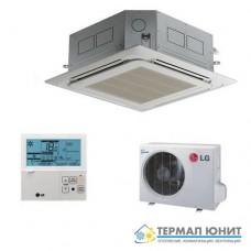 "Инверторен климатик, ""касетъчен"" тип, комплект DC invertor  LG UT30.NP2/UU30W"