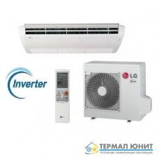 """Инверторен климатик, """"подово-таванен""""  тип комплект DC invertor  LG UV30/UU30W"""